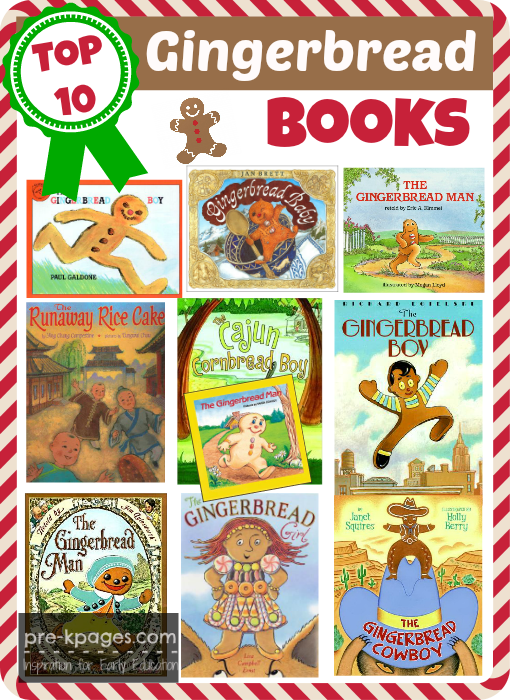 Best Gingerbread Picture Books for Preschoolers | Gingerbread ...