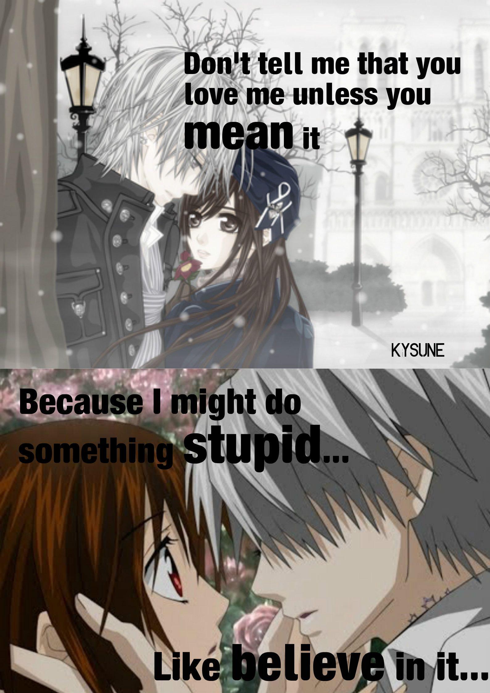Anime vampire knight editor kysune