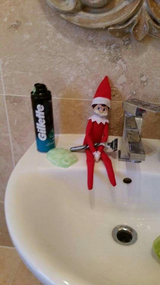 Elf - Shaving Ernie