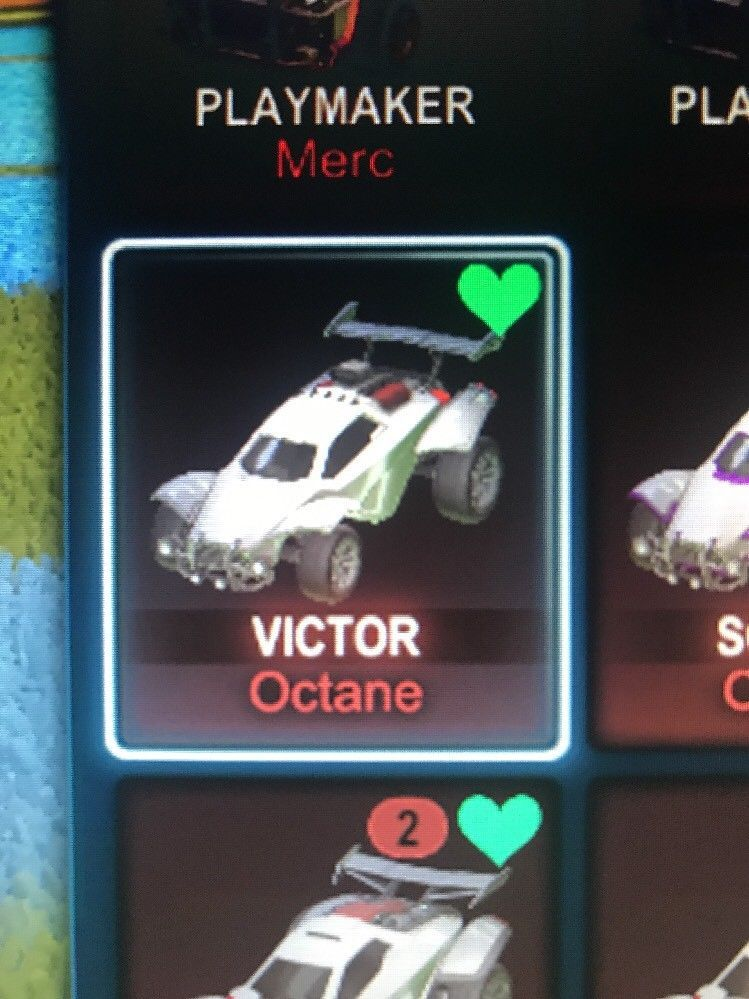Xbox One) Rocket League Titanium White Octane VICTOR CERTIFIED