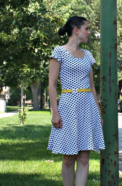 e3e0237640 Sew Sweetness  Lady Skater Dress