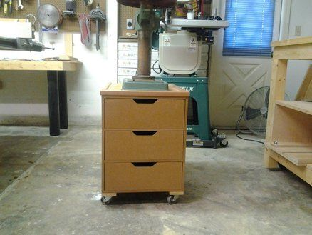 Drill Press Stand Drawer Cabinet