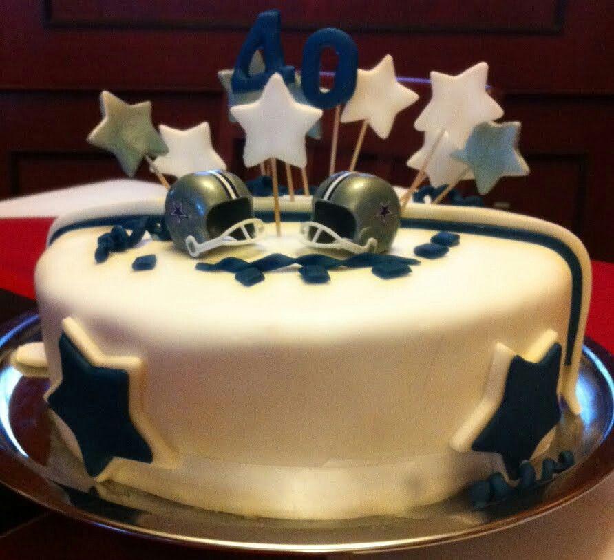 Yummy Dallas Cowboys CakeCowboys FootballBirthday Cake DeliveryCowboy