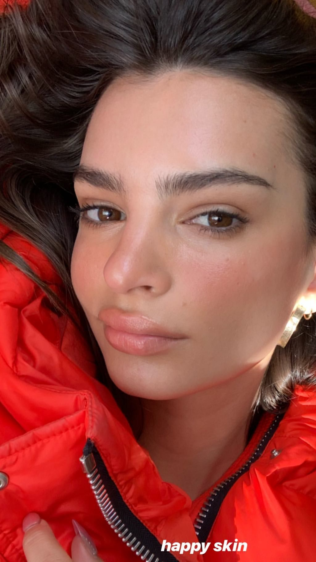Instagram Fresh face makeup, Emily ratajkowski, Natural