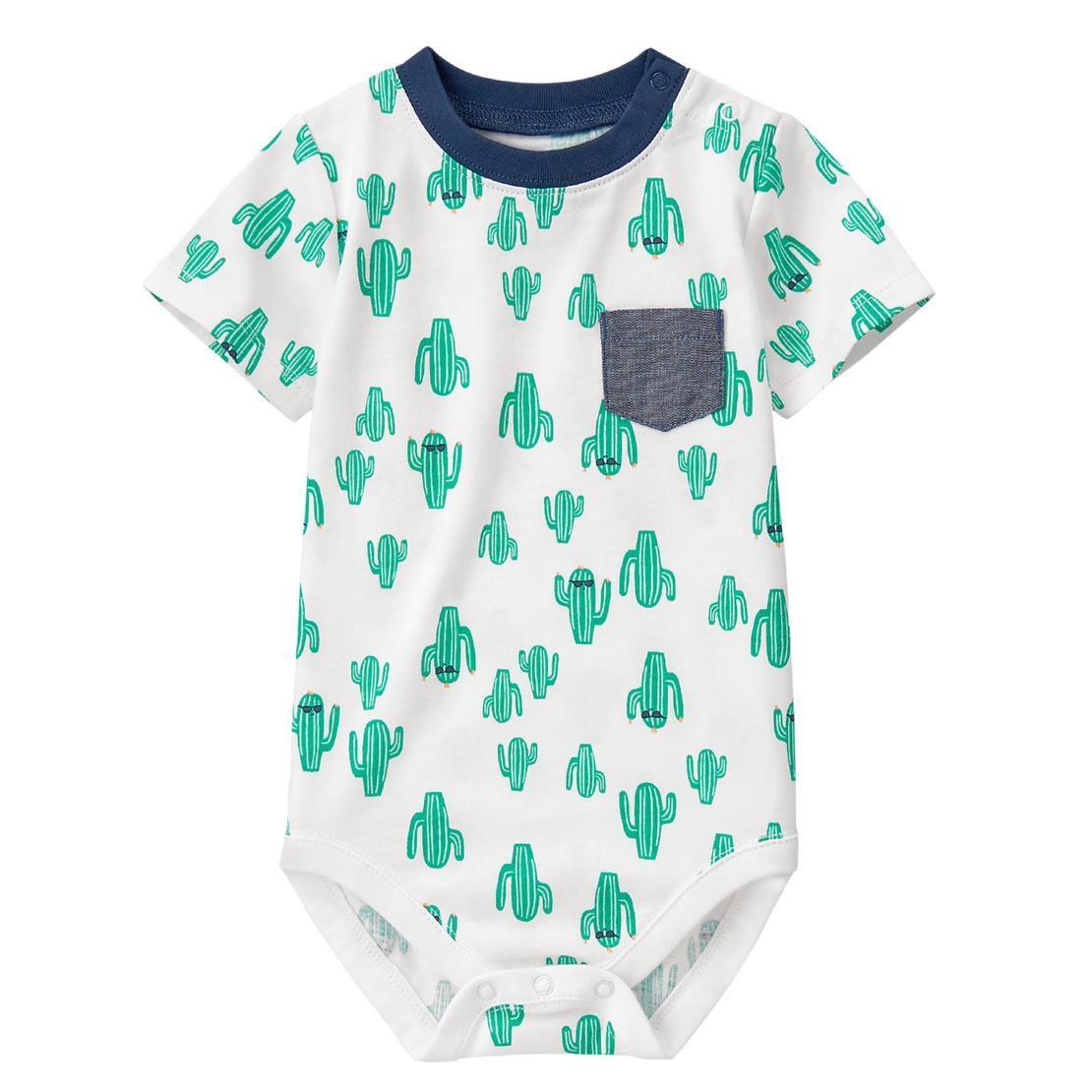 80f2de37f12b Baby Cactus Print Cactus Bodysuit by Gymboree