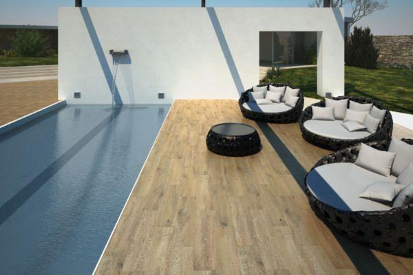 Carrelage Eternal Wood COLORKER TANGUY Matériaux Terrasse / Jardin - produit antiderapant pour carrelage exterieur