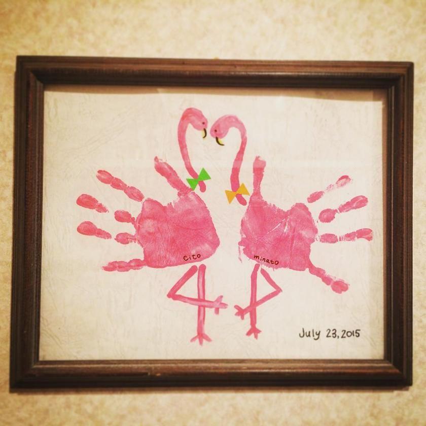 День, открытки с ладошками ребенка