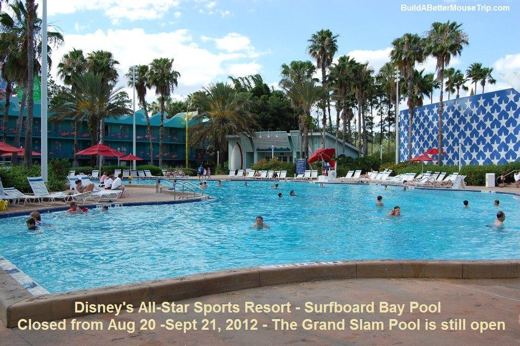 Disney's AllStar Sports Resort at Disney World. (With