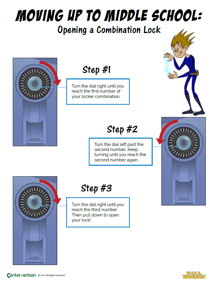 how to open your locker