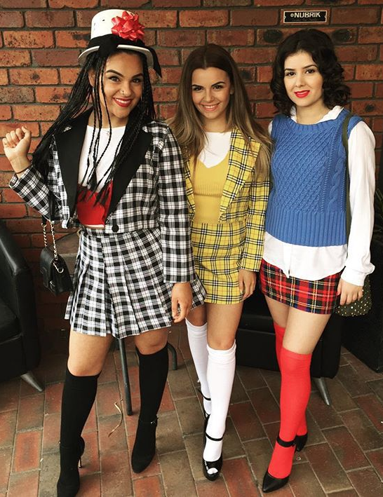 The Cast of  Clueless  | 21 DIY Halloween Costumes for Women | 2016 | Group Costume  sc 1 st  Pinterest & 21 DIY Halloween Costume Ideas Thatu0027re Creative Cute u0026 Totally ...