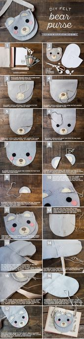 Photo of Here's a perfect sewing activity to sit down and do with you…