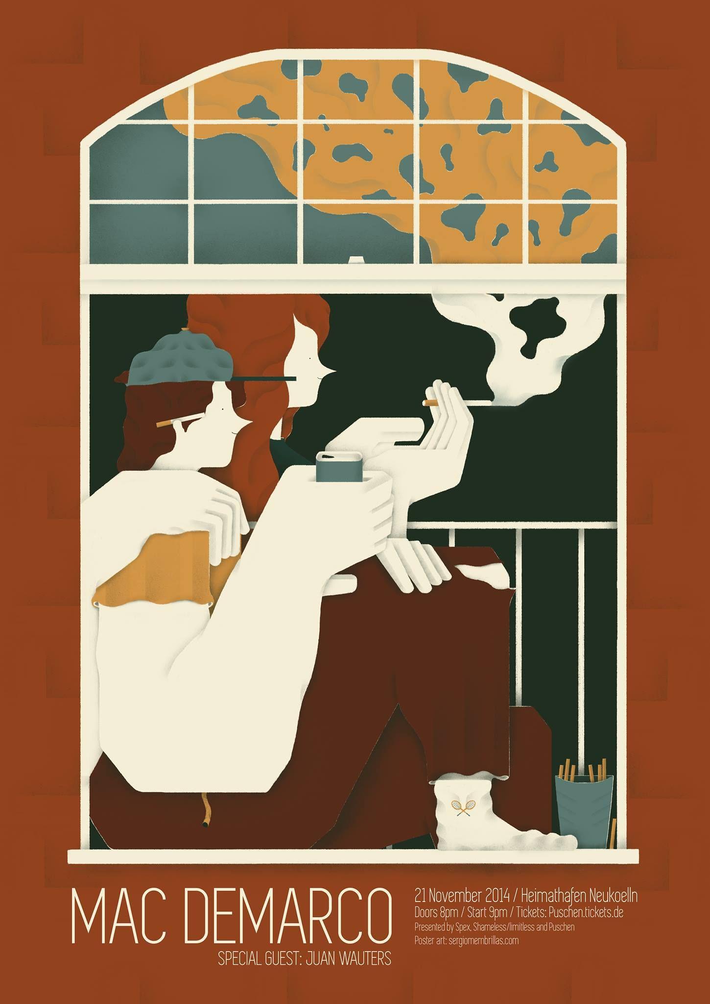 mac de marco | illustration | Pinterest | Mac, Marcos y De banda