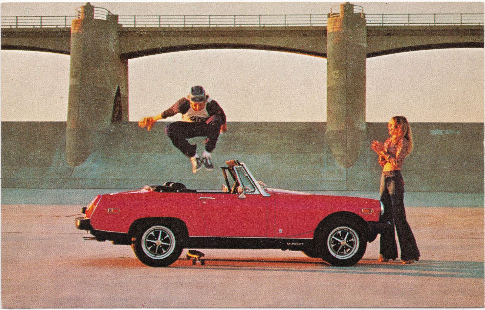 1970s British Leyland Mg Midget Is A Small Two Seater Sports Car