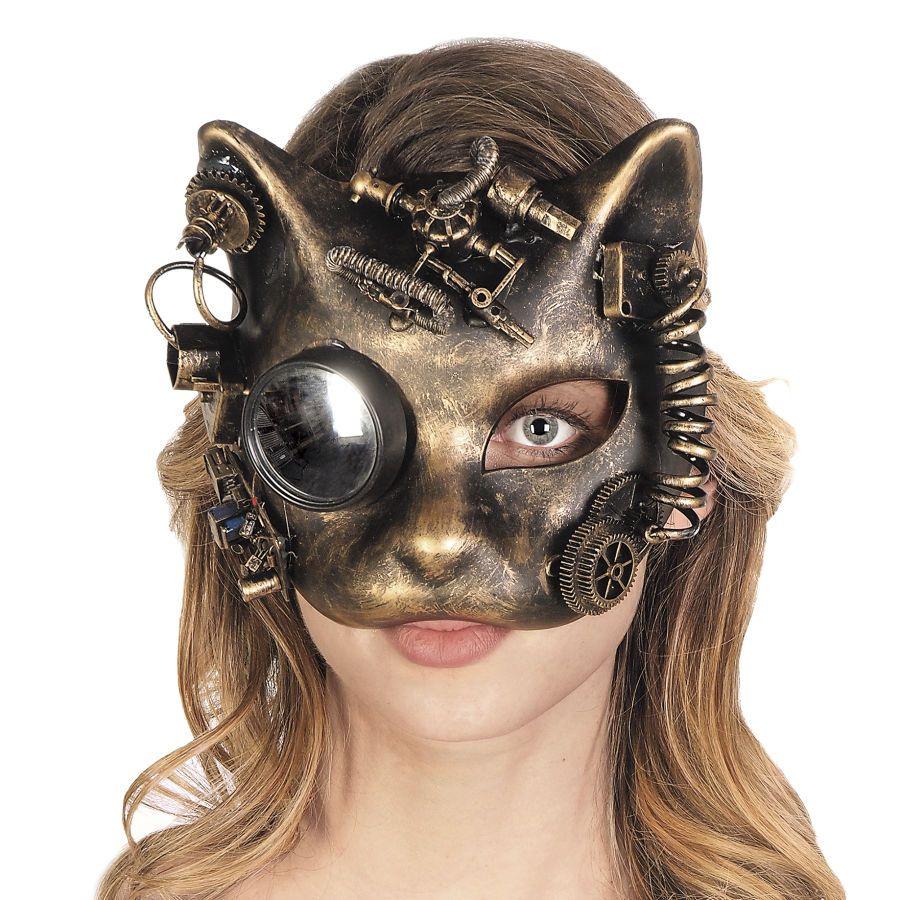 Mechanical Cat Mask - Women's Clothing & Symbolic Jewelry – Sexy, Fantasy…