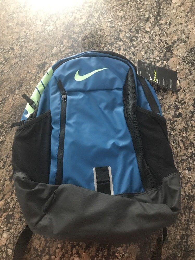 dfd1e8853f NIKE Alpha Adapt Rise Laptop Backpack BA5254 457 School Bag Book Bag Teal   Nike  Backpack