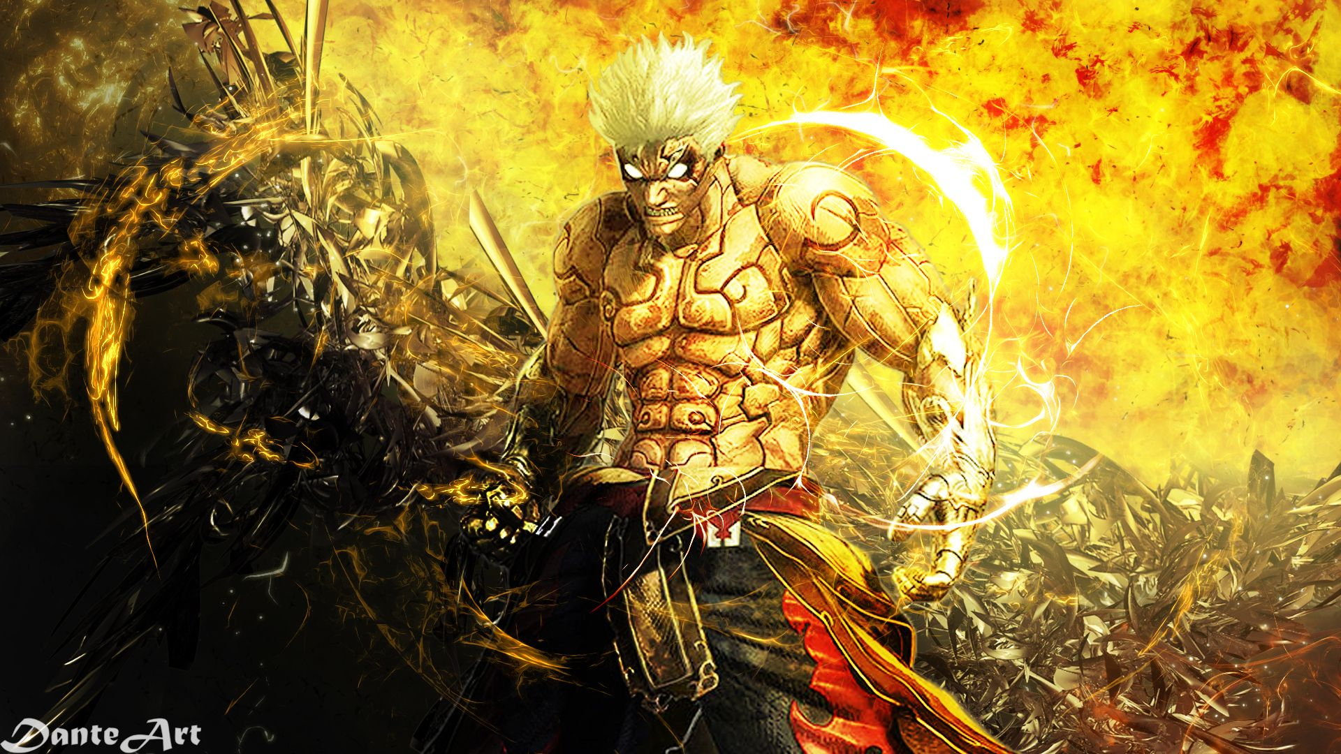 Asuras Wrath Asura Hd Desktop Wallpaper High Definition Asura S Wrath Wrath Wallpaper