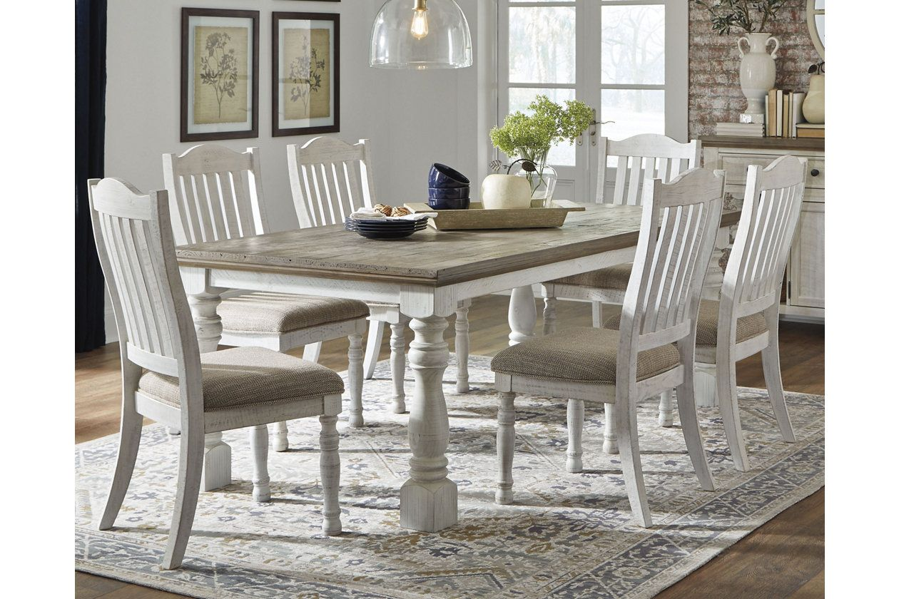 Havalance Dining Table Ashley Furniture Homestore In 2021 Dining Room Table Dining Table Rectangular Dining Room Table