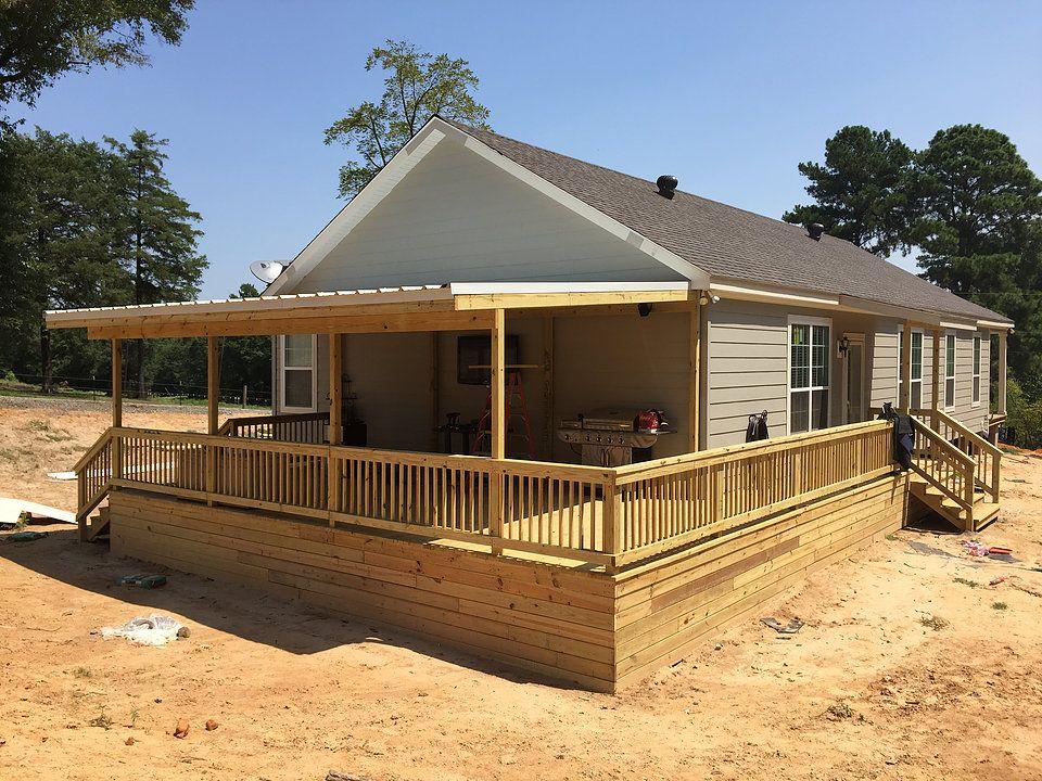 Top Deck Builder in East Texas / Longview Decks Roofed
