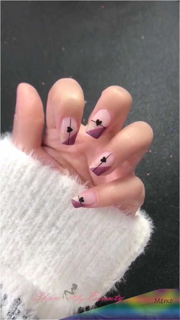 Show all Valentine's Day Nails Design for Romantic Day – Check out for more V-da… – Peinados facile