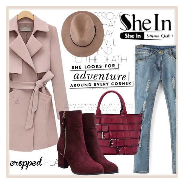 """""""C SheIn"""" by lajla-lap ❤ liked on Polyvore featuring Kate Spade, women's clothing, women's fashion, women, female, woman, misses and juniors"""