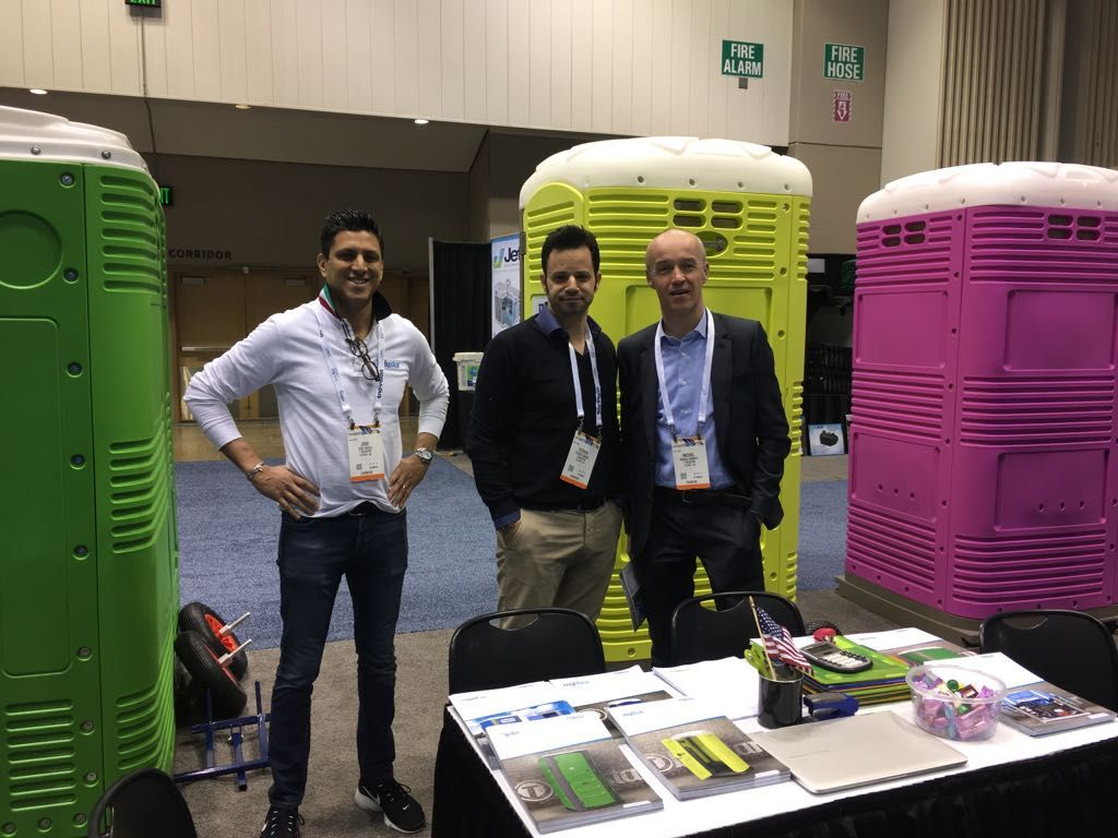Part of the Tblustar team at the WWETT Show 2018, coming