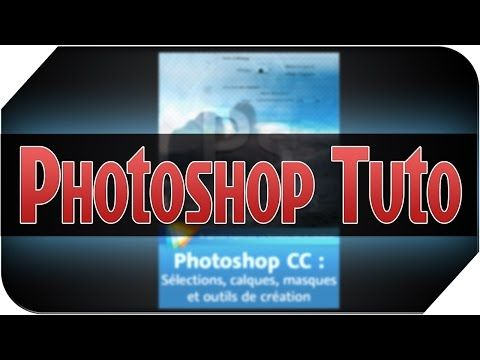 Apprendre Les Bases De Photoshop Cs6 Version Hd Dans La Description Youtube Photoshop Edition De La Photographie Et Tuto Photoshop