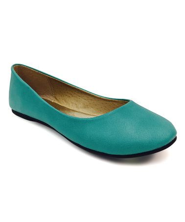 Look at this #zulilyfind! Aqua Giva Ballet Flat #zulilyfinds