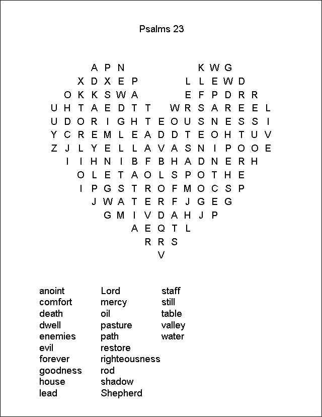 Lively image pertaining to christian word search printable