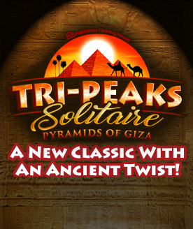 Play Tri Peaks Solitaire Pyramid Of Giza online for free