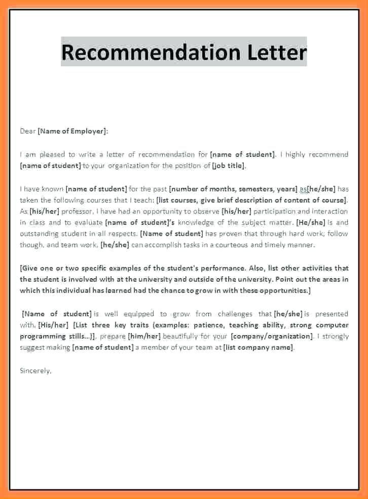 image result for teacher recommendation letter for student