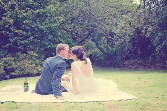 Beautiful Wedding in Wales by Louise Griffin Photography