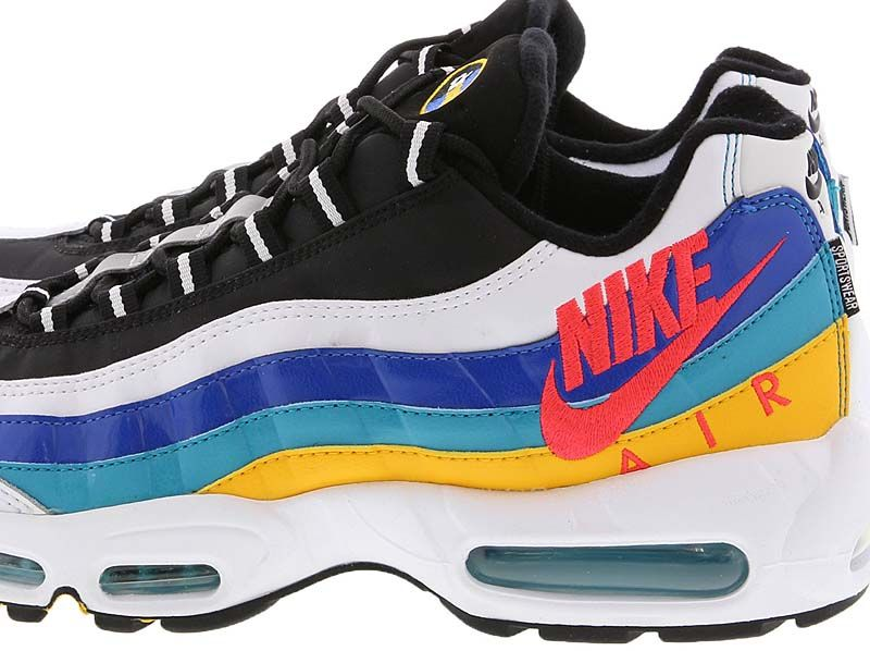 NIKE AIR MAX 95 ESSENTIAL [WHITE UNIVERSITY GOLD TEAL