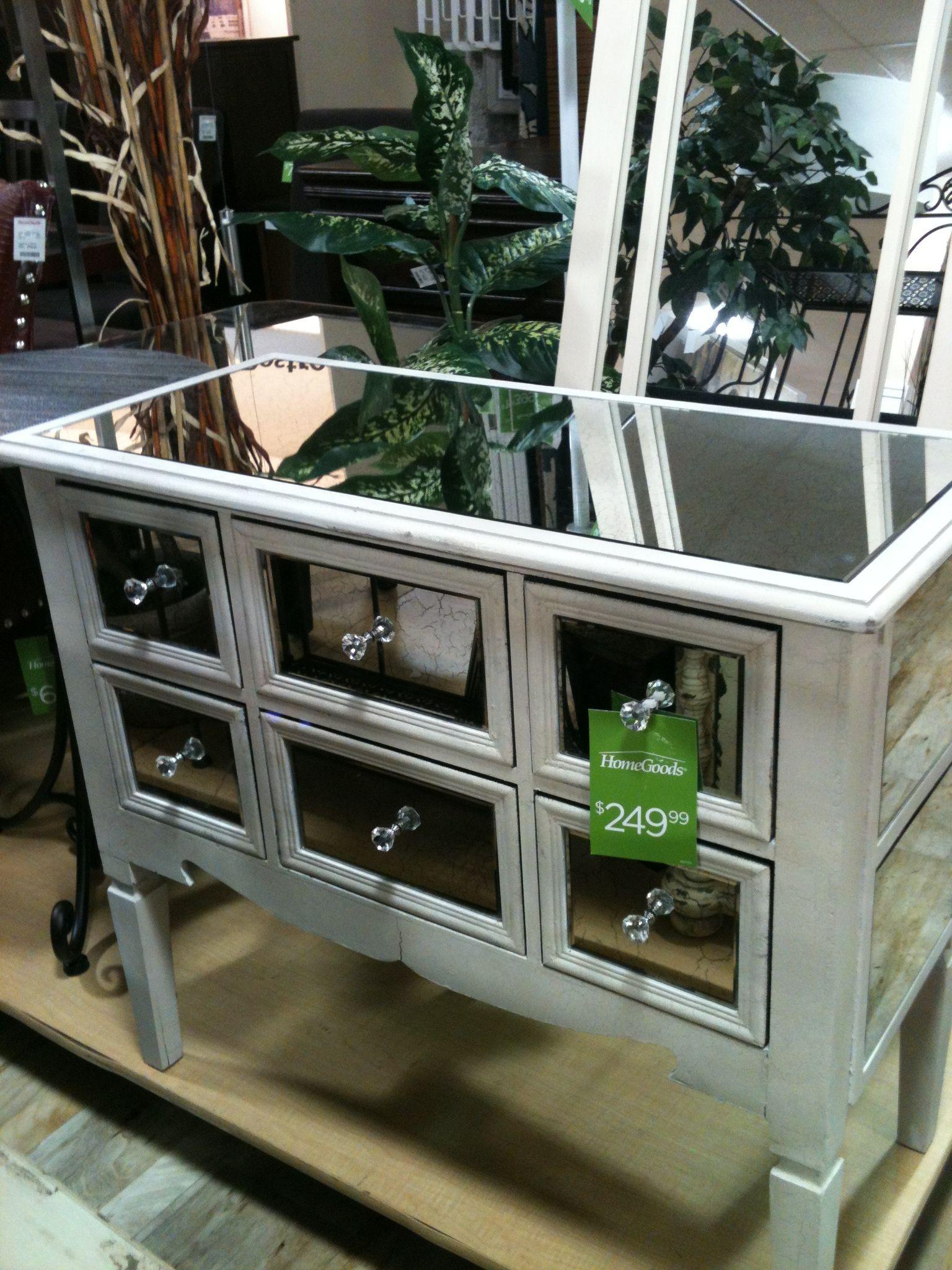 Wonderful Mirrored End Table   Master   Nightstand   Marshalls