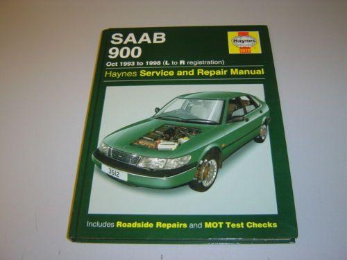 saab 900 inc coupe convertible haynes manual oct 1993 1998 petrol rh pinterest com 1995 Saab 900 1994 Saab 900 Interior
