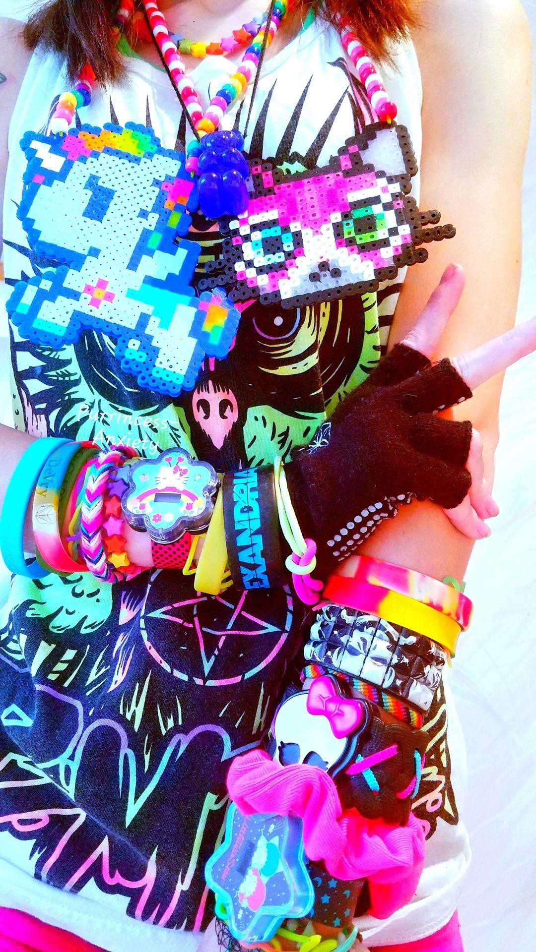 scenecore | Tumblr | Scene fashion, Scene kids, Scene