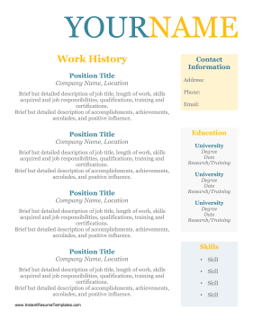 Resume Format Without Dates Resume Examples Job Resume Examples Sample Resume Format