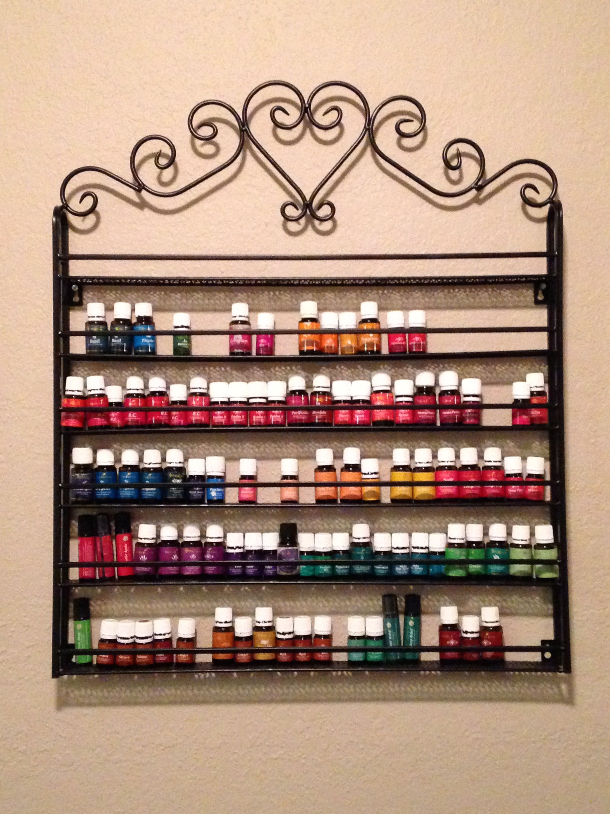Essential Oil Display And Storage Ideas