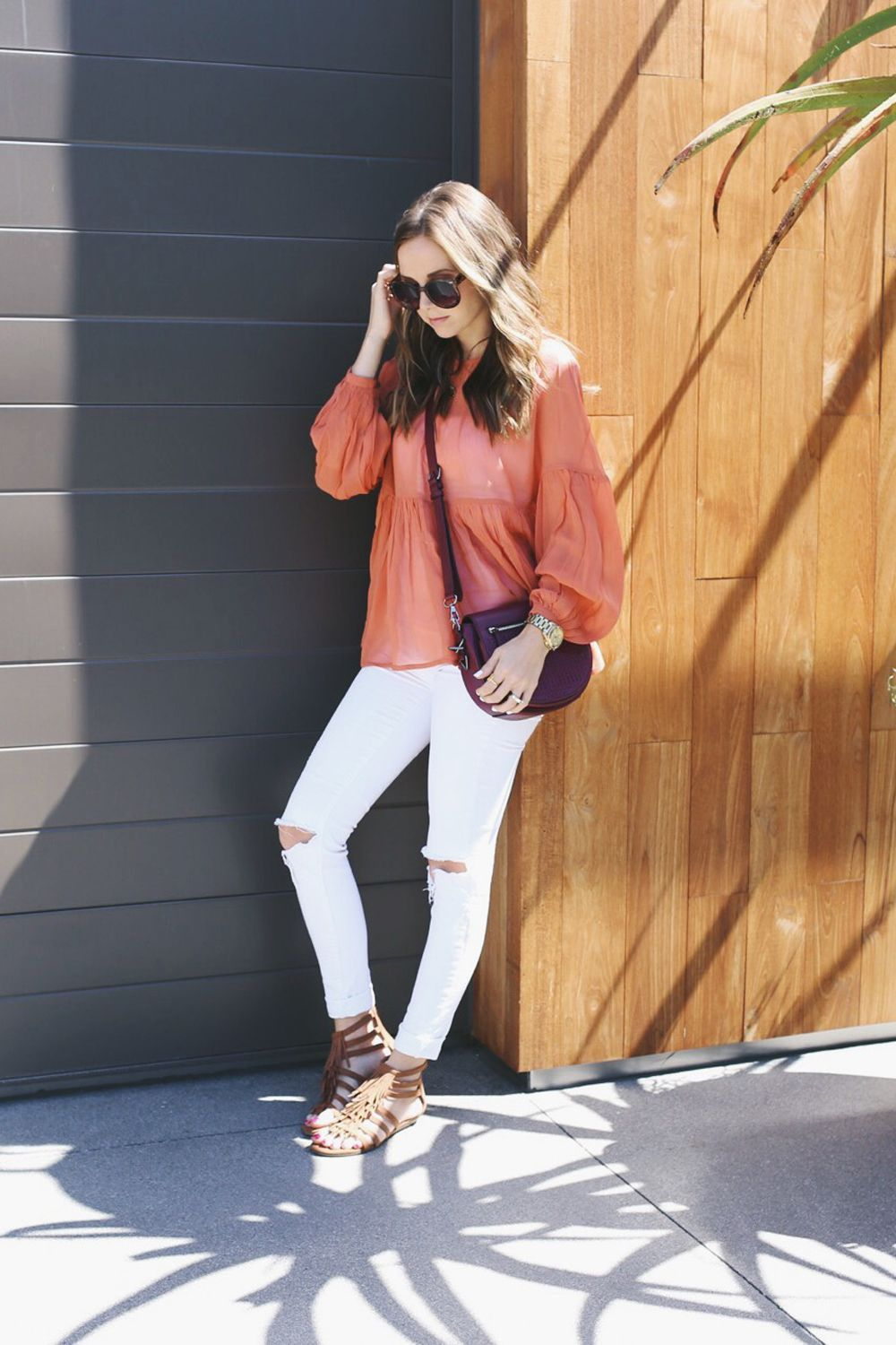 How To Style White Jeans For Winter | White jeans, Outfit