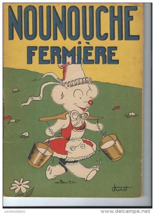 12 Albums De Nounouche La Petite Ourse Textes Et Dessins De Durst Imprimerie Giraud Rivoire Lyon Vers1940 A Animal Books Poster Prints Illustrations Posters