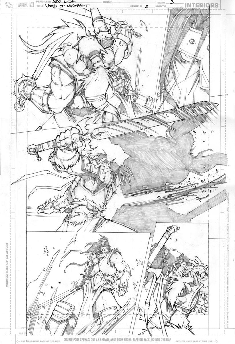 Warcraft comics2 pencils 3 by LudoLullabi.deviantart.com on @deviantART