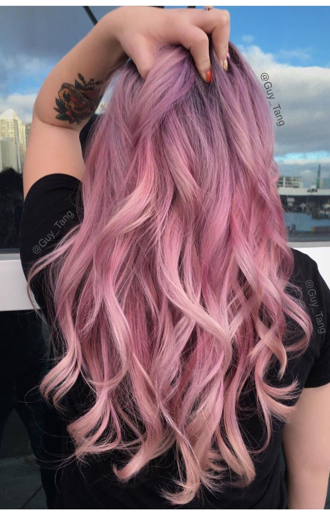 Pastel pink pastelpink hairstyles hair haircolor hairgoals