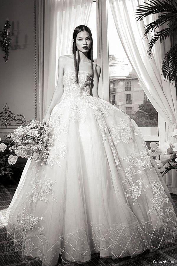 Yolancris Fall Winter 2016 Wedding Dresses Couture Capsule Bridal Collection Inspirasi