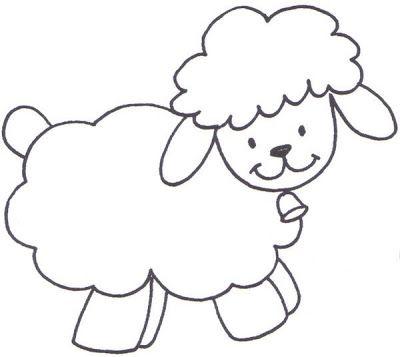 PATCHCOLAGEM-APPLIQUE: OVELHA | ovce | Pinterest | Molde, Pizarra y ...