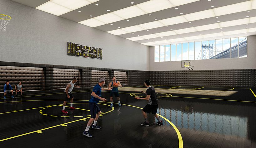 New York S Most Luxurious Gyms And Fitness Centers Fitness Center Indoor Basketball Court Indoor Gym