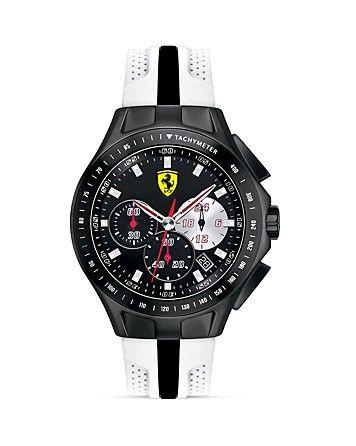 Scuderia Ferrari Textures of Racing Watch, 44mm   Bloomingdale's
