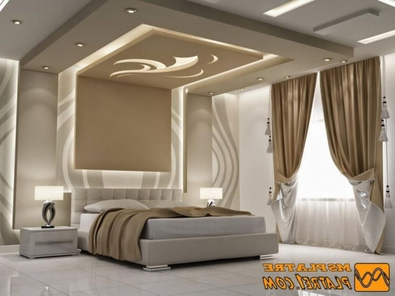 Stunning Faux Plafond Chambre A Coucher 2016 Contemporary ...