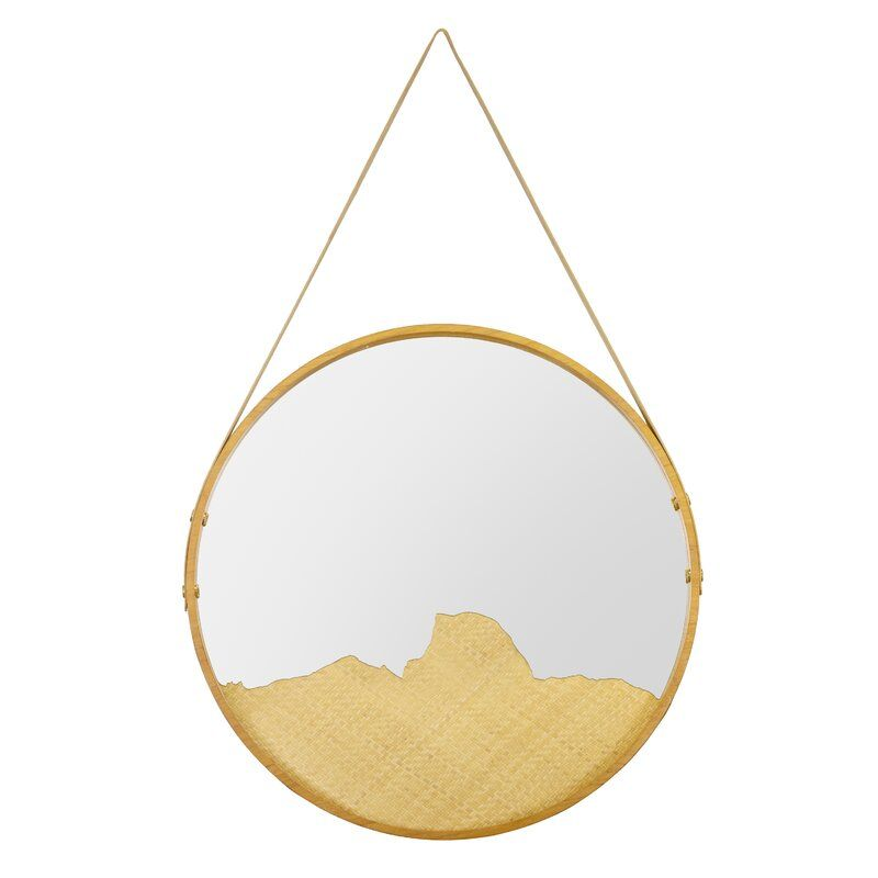 Sonora Modern And Contemporary Accent Mirror Small Mirrors Selamat Designs Teak Frame