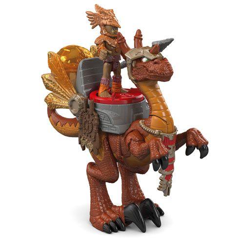 Fisher-Price Imaginext warrior Stegosaurus Dinosaur Dino