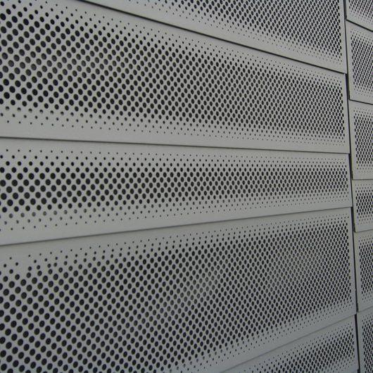Facade Panels Perforated Panels Metaltech Usa Metal Screen Metal Screens Facade Facade Panel
