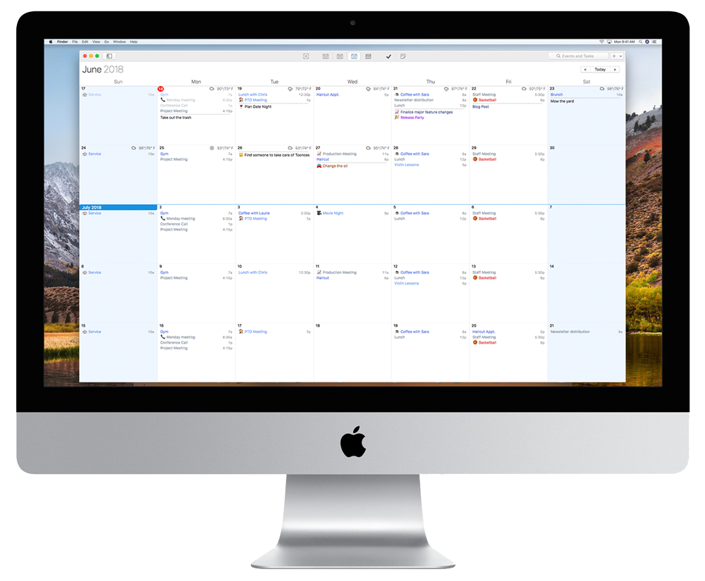 Best Calendar App for mac, iOS, and Android. Best Planner